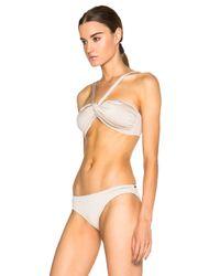 Prism - White Salinas Beach Bikini Top - Lyst