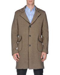 Alpha Massimo Rebecchi Natural Coat for men