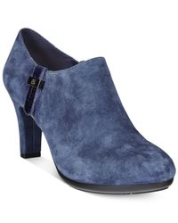 Anne Klein | Blue Seabed Ankle Booties | Lyst