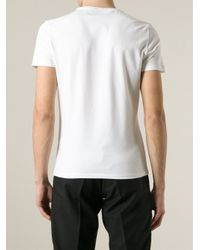 Iceberg - White Logo T-Shirt for Men - Lyst