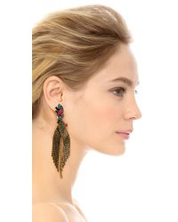 Erickson Beamon - Multicolor Underground Crystal Earrings - Multi - Lyst