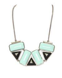 Rose Pierre | Blue Treasure Chest Bib Necklace | Lyst