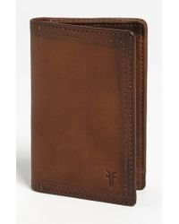 Frye | Brown 'james' Wallet for Men | Lyst