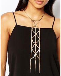 ALDO | Metallic Swanick Necklace | Lyst