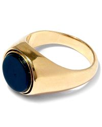 George Frost Metallic Gold-plated Poison Justice Ring