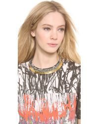 Aurelie Bidermann Gray Copacabana Necklace - Charcoal