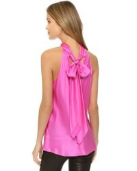 Ramy Brook | Pink Paige Top | Lyst