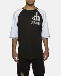 Liam Hodges Black Modified Nation Signature T-shirt for men