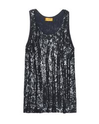 Nicole Miller Blue Orion Sequin Dress