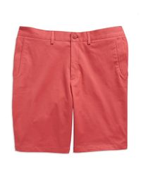 Vince Camuto | Pink Cotton Stretch Shorts for Men | Lyst