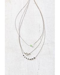 Urban Outfitters Metallic Easy Picnic Delicate Necklace