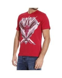 John Richmond | Red T-shirt for Men | Lyst
