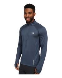 The North Face | Blue Isolite 1/2 Zip Pullover for Men | Lyst