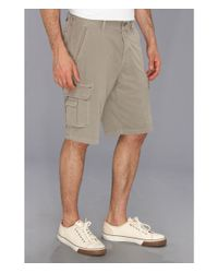 Tommy Bahama Gray East Bank Cargo Short for men