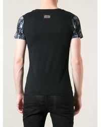 Philipp Plein Black Skull Tshirt for men