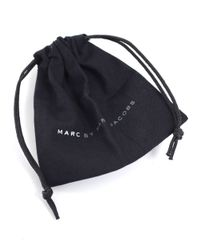 Marc By Marc Jacobs | Black Standard Supply Leather Bracelet | Lyst