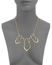Alexis Bittar | Metallic Crysophase Necklace | Lyst