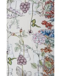 Swash London - Natural Extraordinary Pastel Botany Scarf - Lyst