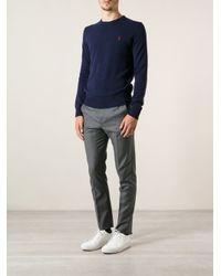 Polo Ralph Lauren Blue Logo Sweater for men