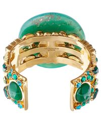 Vickisarge Blue Green Adele Cuff