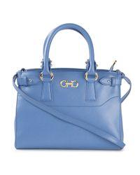 dd223984ad Women s Blue  Batik  Satchel. See more Ferragamo Shoulder bags.