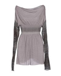 Purotatto - Gray Jumper - Lyst