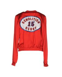 Filles A Papa - Red Jacket - Lyst