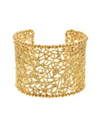 Brooks Brothers | Metallic Cuff Bracelet | Lyst