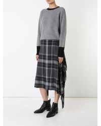Public School | Gray 'alice' Skirt | Lyst