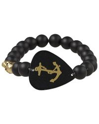 Electric Picks | Black Low Rider Anchor Bracelet | Lyst