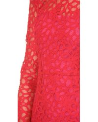 Roseanna Red Harlem Lace Dress - Rouge