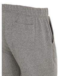 Alternative Apparel Gray Eco-mock Twist Double Shorts for men