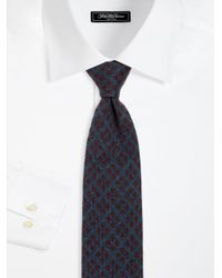Kiton - Green Reversible Cashmere Tie for Men - Lyst