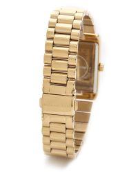 Michael Kors Metallic Vintage Glam Watch Gold