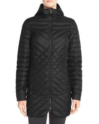 The North Face | Black Karokora Quilted Parka Jacket  | Lyst