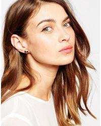 Ted Baker | Multicolor Jewel Cluster Stud Earrings | Lyst