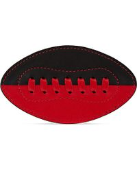 Tommy Hilfiger | Red Leather American Football Badge - For Women | Lyst