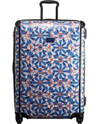 Tumi Blue Tegra-lite Cayenne-tile Four-wheel Suitcase
