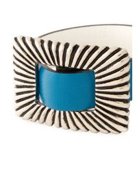 Toga - Blue Buckled Bracelet Duo for Men - Lyst