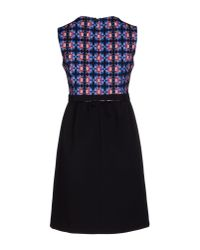 Alice San Diego Black Short Dress