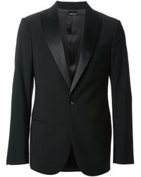 Giorgio Armani | Black Classic Formal Suit for Men | Lyst