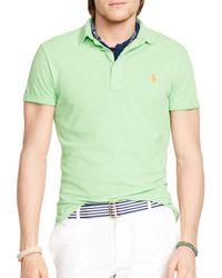 Ralph Lauren | Green Polo Featherweight Polo Shirt - Regular Fit for Men | Lyst