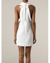 Stella McCartney White Bow Dress