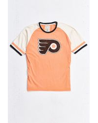 Urban Outfitters | Orange Philadelphia Flyers Hockey Tee for Men | Lyst