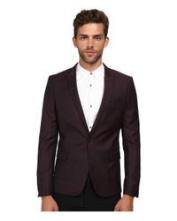 The Kooples - Purple Iridescent Suit Jacket for Men - Lyst