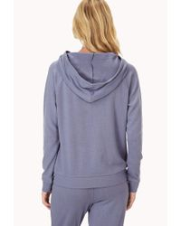 Forever 21 | Blue Varsity 95 Sleep Hoodie You've Been Added To The Waitlist | Lyst