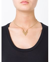 Marc By Marc Jacobs | Metallic 'beat It Fringe Pointer' Necklace | Lyst