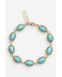 Kendra Scott | Blue 'jana' Line Bracelet - Turquoise | Lyst