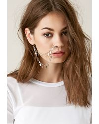 Forever 21 | Metallic Haati Chai Patha Clip-on Nose Ring | Lyst