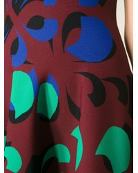 Alexander McQueen - Multicolor Floral Jacquard Dress - Lyst